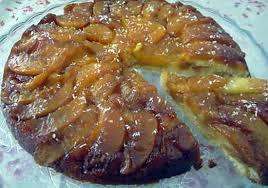 la cuisine de nad recette de gâteau renversé noix de coco pêches caramélisées
