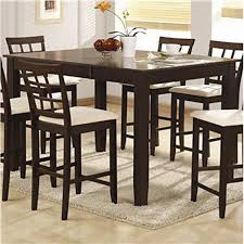 high table and chair set modern dining room counter height sets ideas eva furniture tall