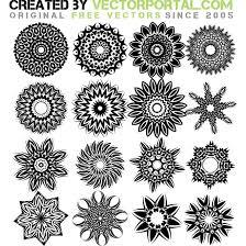 tattoo flowers vectors download at vectorportal