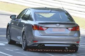 lexus isf exhaust 2015 lexus gs f spied lapping the u0027ring