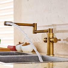 brass faucets kitchen senlesen deck mounted antique brass bathroom faucet kitchen sink