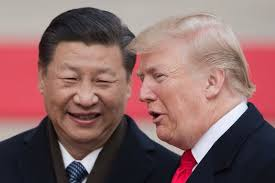 the latest trump says he and xi will solve world problems