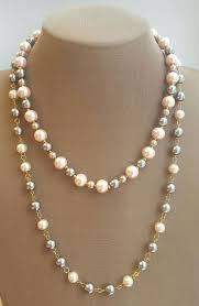 175 best pearl necklaces images on pearl necklaces
