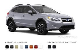 Subaru Xv Crosstrek Interior 2013 Subaru Xv Crosstrek Exterior Colors And Interior Options