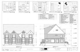 residential house plans wonderful floor plan section elevation architecture plans 4988