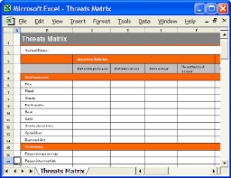 security plan template instant download free excel templates