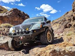 lifted lexus insane long travel lexus gx470 off road project from sema