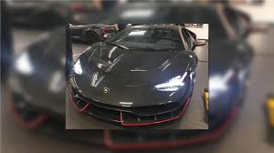 How Much Is A Centenario First Lamborghini Centenario In The U S Shows Up In Cali