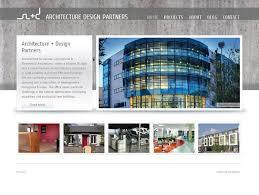 architect website design architecture design partners galway website web design galway