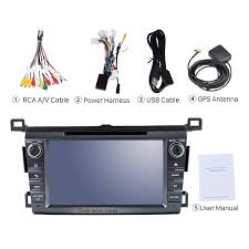 6 0 2 din radio dvd player car stereo for 2013 2016 toyota rav4
