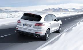 Porsche Cayenne Turbo S - 2016 porsche cayenne turbo s review top speed