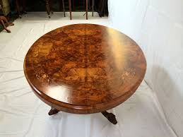 inlaid dining table and chairs antique furniture warehouse large walnut oval dining table mid
