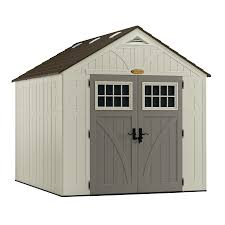 shop vinyl u0026 resin storage sheds at lowes com