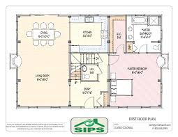 baby nursery single story house plans with open floor plan one