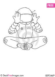 astronaut sketch free stock images u0026 photos 8393469