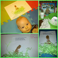 easy groundhog day crafts for kids and babies