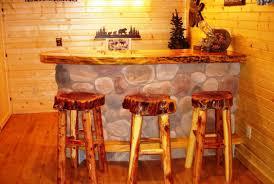 Unique Bar Stools Unique Rustic Bar Stools