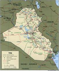 Map Of Babylon Nationmaster Maps Of Iraq 76 In Total