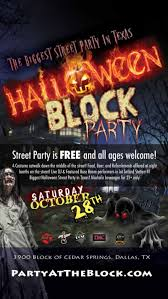 halloween block party in dallas ft worth at cedar springs road
