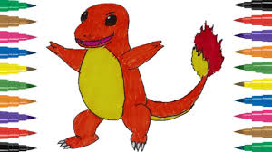 coloring pages pokemon charmander eliolera