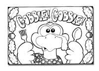 11 images coloring pages printable thanksgiving placemat free