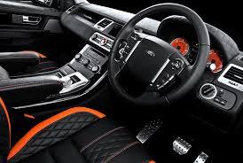 kahn range rover 5 0 litre supercharged cosworth interior car