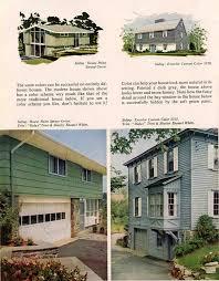 Modern House Color Palette Exterior Colors For 1960 Houses Retro Renovation