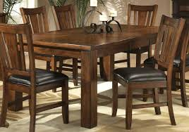 farmhouse counter height table rustic dining set industrial