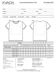 order form template best business template