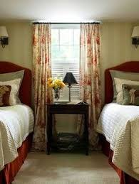 Basement Window Blinds - for basement windows two tension rods top and bottom with sheer