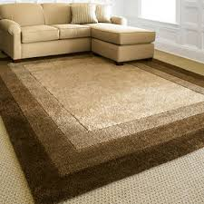 Brown And Beige Area Rug Area Rugs