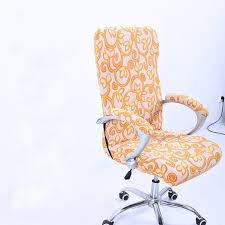 elastic spandex office chair cover slipcover s m l armrest cover