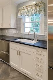 Elmwood Kitchen Cabinets Bar Sink Faucet Modern Kitchen Remodel With Elmwood Cabinets And