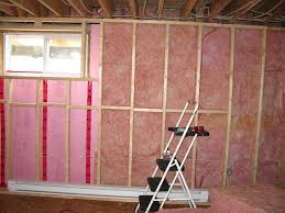 fascinating insulating interior walls how to finish a basement