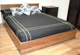 queen size wooden bed frame singapore wood with storage mattress