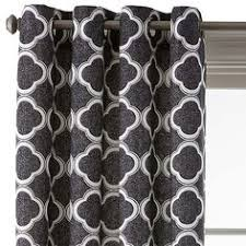 Jcpenney Home Decor Curtains Jcp Jcpenney Home Cotton Classics Ogee Grommet Top Curtain