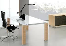 bureau en verre design bureau verre design contemporain bureau verre blanc cube glass