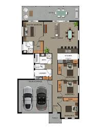 Floor Plan For Small House by Small House Design Rendered Floor Plans Planning Floorplans