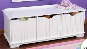 bedroom storage bins new wooden 3 bin storage bench toy kids room bedroom furniture