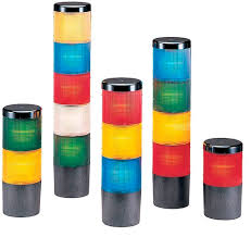 Flashing Stack Light Three Color Surface Mount Explosion Proof