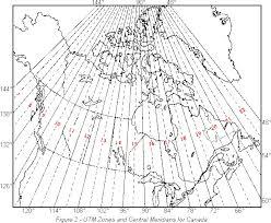 utm zone map the utm grid universal transverse mercator projection