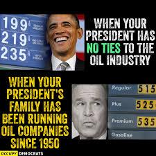 Bush Memes - gas cheaper under obama or bush