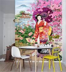 Peinture Cerisier Japonais by Online Get Cheap Murale Mur Japonais Aliexpress Com Alibaba Group