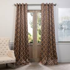 Blackout Curtains Exclusive Fabrics U0026 Furnishings Semi Opaque Seville Grey And Gold
