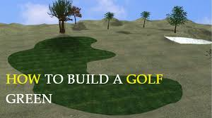 diy backyard putting and chipping green image with astounding