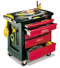 rubbermaid service cart with cabinet storage cabinet on casters 5 drawer metal max 113 4 kg