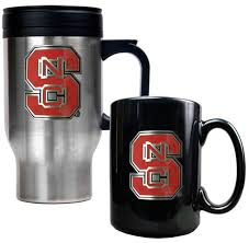 North Carolina travel cups images North carolina state wolfpack 2 pc travel mug set jpg