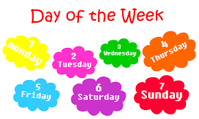 days of the week free android apps on play