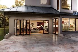 Folding Exterior Patio Doors by Outdoor Folding Glass Doors