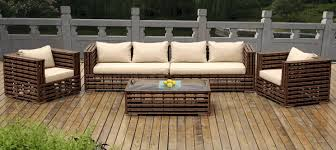 Outdoor Resin Wicker Furniture by Beautiful Outdoor Patio Wicker Furniture Deep Seating 5 Pc Set